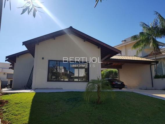 Casa À Venda Em Condomínio Terras De Vinhedo - Ca001588