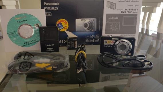 Maquina Fotográfica 10 Mp Panasonic Lumix Fs62