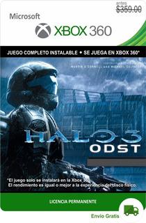 Halo 3odst Edición Campaña Xbox 360 * Permanente *