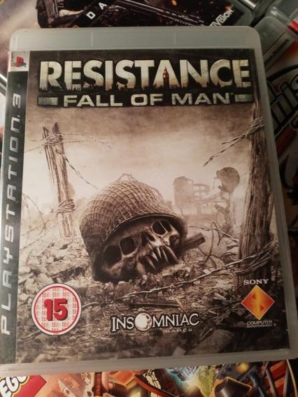 Resistance Fall Of Man Ps3 Em Português Midia Fisica
