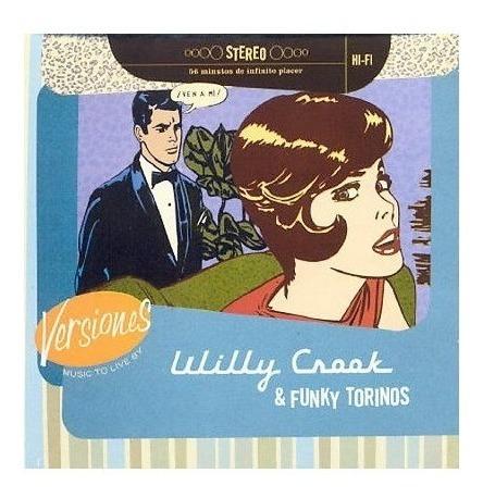 Willy Crook Versiones Cd Nuevo Original Reedicion 2019