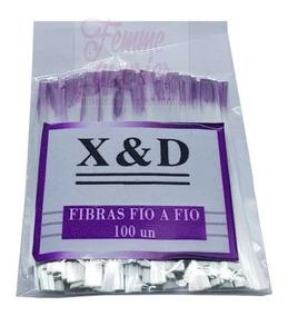 100 Fibra De Vidro Fio A Fio Xd Alongamento Unha Gel X&d