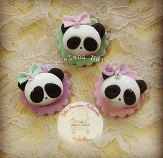 Souvenirs Oso Panda Porcelana Fría