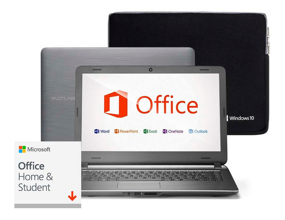 Notebook Urban Intel Core I3 4gb 120gb Ssd 14 Pol. Office 19