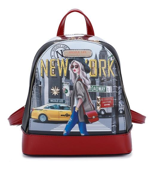 Mochila Nicole Lee New York Walk 15231