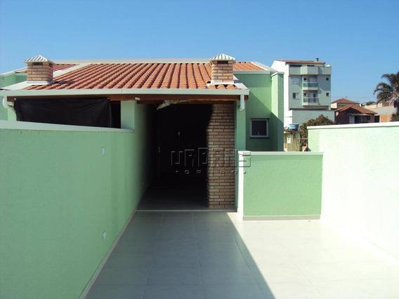Cobertura Com 2 Dormitórios À Venda Por R$ 339.200,00 - Parque Das Nações - Santo André/sp - Co0266
