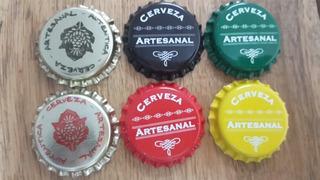 100 Tapas Corona Impresas Cerveza Artesanal Bierplatz
