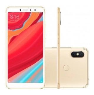 Celular Xiaomi Redmi S2 Gold 4gb Ram 64gb + Capa Silicone