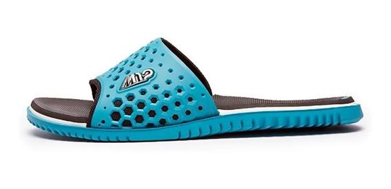 Slide Kenner Níquel M12 Escovado Azul Frete Free 010687