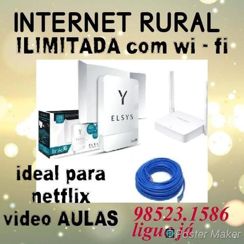 Internet Rural A Melhor Que Vai Achar