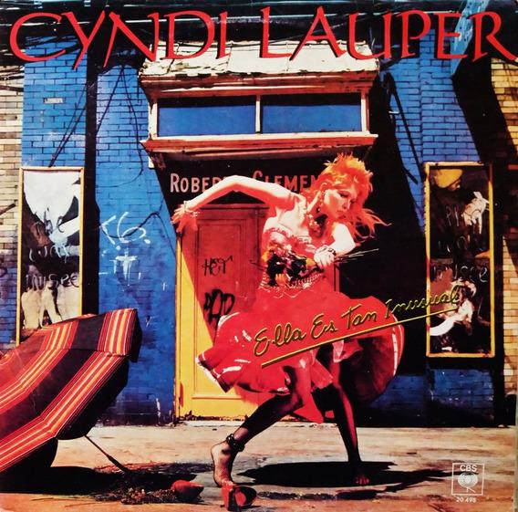 Cyndi Lauper - Ella Es Tan Inusual Lp Rock@