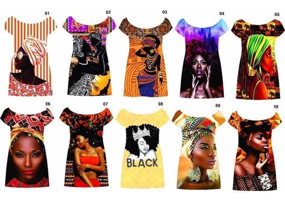 Vestido Curto Afro, Tendência 2019