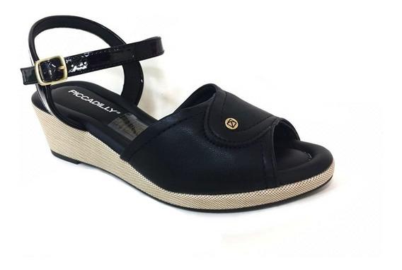 Sandalia Feminina Salto Conforto Top Moda Piccadilly 438008