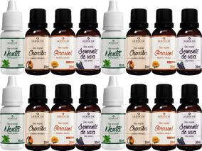 Kit Atacado 16 Óleos Vegetais Aromaterapia Dermcos