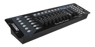 Controlador Dmx 16 Canales Luces Dj Consola 512 Beam Dj Soni