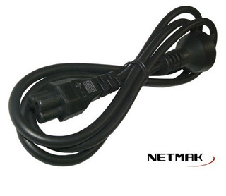 Cable De Alimentación Tipo Trébol
