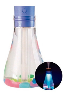 Umidificador Luminária E Aromatizador Garrafa 500 Ml