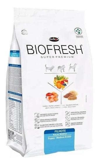Racion Alimento Biofresh Perros Cachorros Raza Mediana 7,5kg
