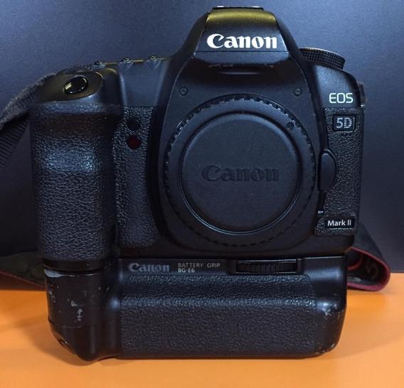 Câmera Canon 5d Mark Il + Grip Corpo