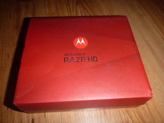 Caja De Motorola Razr Hd Xt-925 Negro