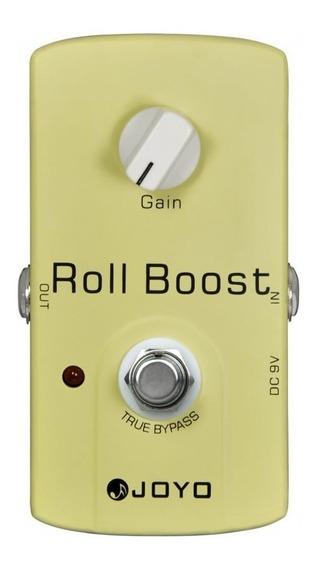 Pedal Joyo Roll Boost   Jf 38   Para Guitarra