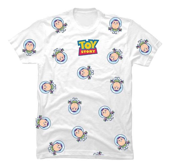 Playera Blanca Buzz Lightyear Juguete Toy Story Andy Modelo