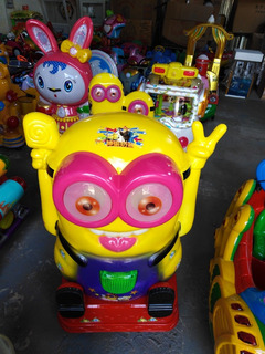 Dondolinos Fichas-monedas - Kiddies - Nuevos Modelos -juegos