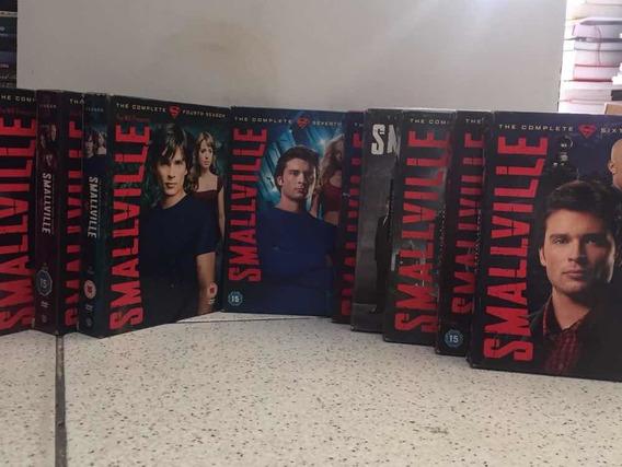 Dvd Coleção Smallville Completa 10 Vols Importada Uk