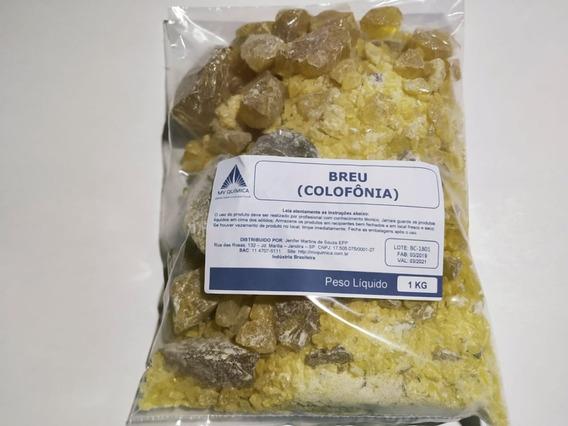 Breu Colofônia Pacote 1kg