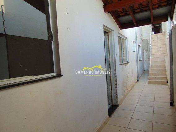 Casa Com 1 Dormitório Para Alugar, 70 M² Por R$ 600,00/mês - Jardim São Camilo - Santa Bárbara D