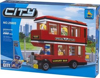 Lego City Alternativo Ausini - Bus De 2 Pisos