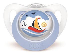 Chupeta Nuk Genius (18m+) Design Barco