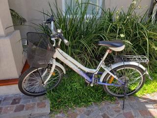 Bicicleta Aurora Ona 20 Manubrio Piñon Shimano 6v-como Nueva