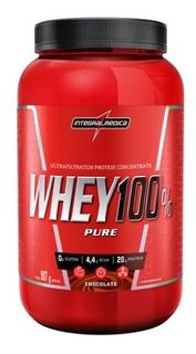 Whey Protein 100% Pure Chocolate Integralmedica 907g