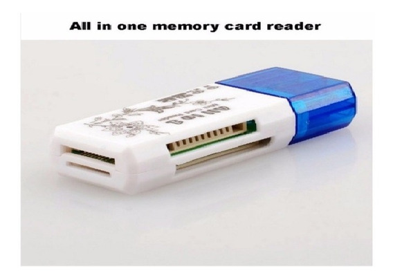 Usb Leitor Cartão Memória Micro Sd Pc Notebook 2 Adaptadores