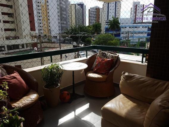 Apartamento Para Venda Em Salvador, Aquárius, 4 Dormitórios, 2 Suítes, 3 Banheiros, 2 Vagas - 392