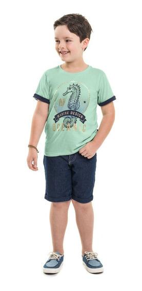 Camiseta Infantil Minore Marine
