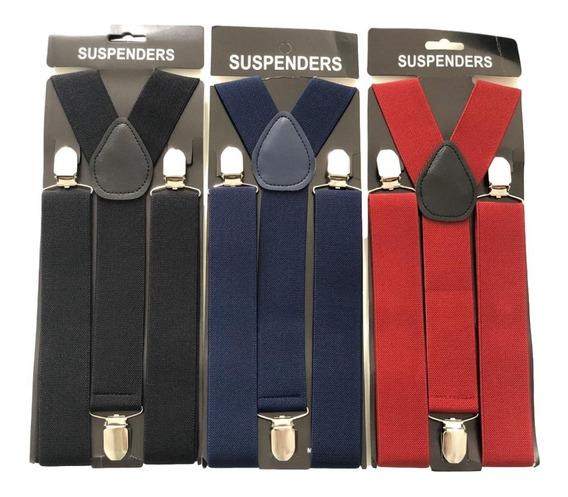 Suspensório King 3,5cm Largura Exclusivo Plus Size Ref:246