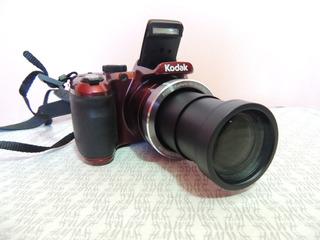 Camara Semiprofesional Kodak Pixpro Az401 16m 40x Hd /rojo