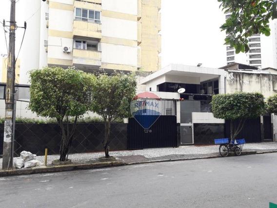 Apartamento Para Alugar Com 3 Quartos (1 Suíte) Em Boa Viagem - Ap0970