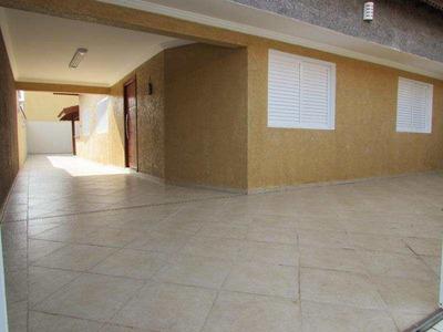 Casa Isolada 3 Dorm - 5 Vagas - Lado Praia E Financia ! - V11784