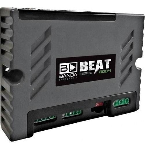 Módulo Amplificador Banda Beat 800.4 800 Rms - Bridge 4 Ohms