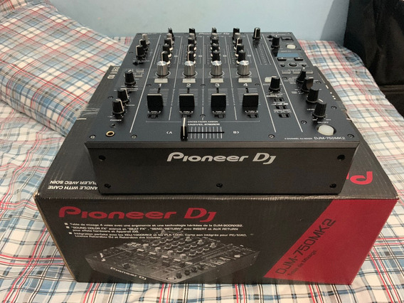 Mixer Pioneer Djm 750 Mk2 Na Caixa Com Licença Rekordbox