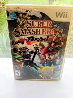 Super Smash Bros Brawl Nintendo Wii Usado