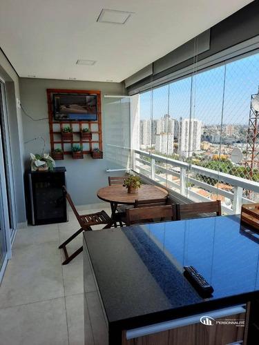 Apartamento Com 3 Dormitórios À Venda, 105 M² Por R$ 1.200.000,00 - Centro - Diadema/sp - Ap0503
