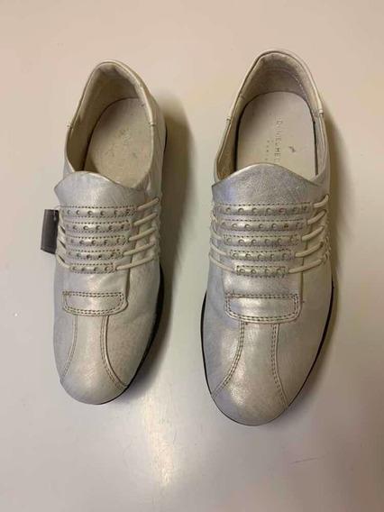 Zapatillas Nuevas Plateadas