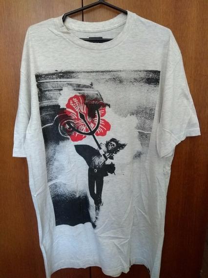 Camiseta Quiksilver Rose