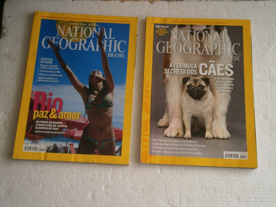 14 Revistas National Geographic Por