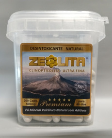 Zeolita Premium 200 Cápsulas - Detox Natrual