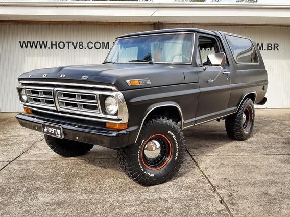 Hotv8 Vende Ford F-1000 Turbo Sr Bronco Nacional